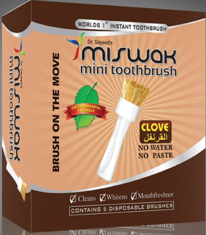 how to use miswak properly